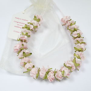 Paper Roses Wedding Horseshoe