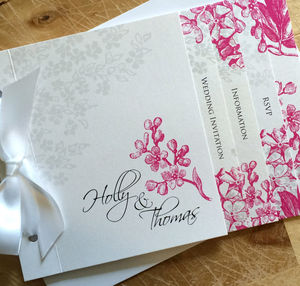Sophie Wedding Stationery Bright Colour's Collection