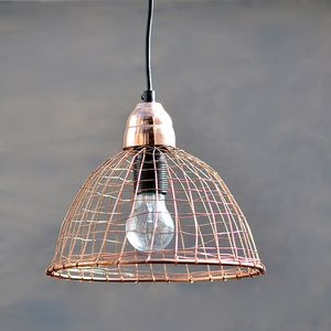 Copper Wire Lamp - ceiling lights