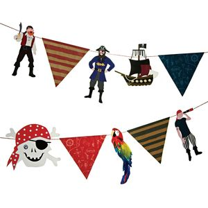 Pirate Party Garland - new in home