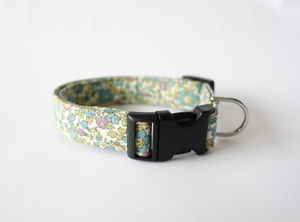 Daisy Liberty Print Dog Collar