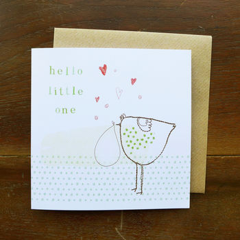 'Hello Little One' Card