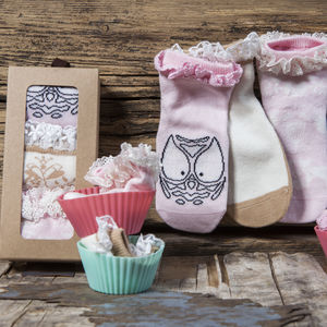 Woodland Animals Children's Socks - socks, tights & booties