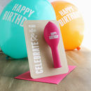 Celebrate – Birthday Balloon Card