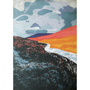 Land Of Fire And Ice. Fine Art Giclée Print