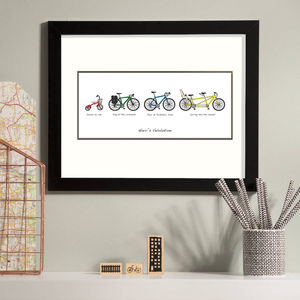 Personalised 'Velo Lution' Print