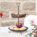 Heart Wire Cupcake Stand