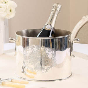 Coat Of Arms Wine And Champagne Bucket