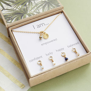 Gemstone Mood Necklace - 100 less ordinary gift ideas