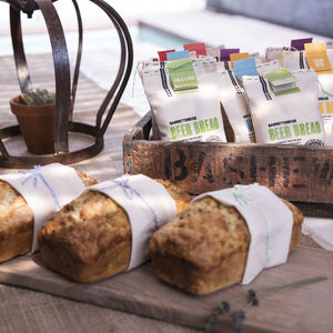 Barrett's Ridge Beer Bread Starter Kit - food & drink gifts under £30