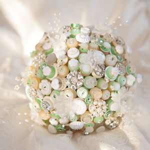 Downton Button Bouquet - flowers, bouquets & button holes