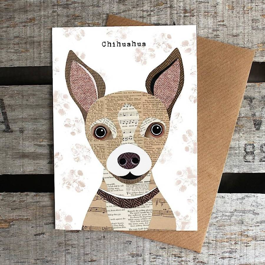 Chihuahua Dog Card