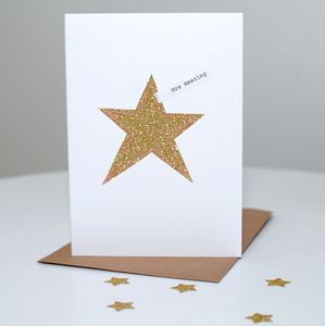 'Amazing' Star Card