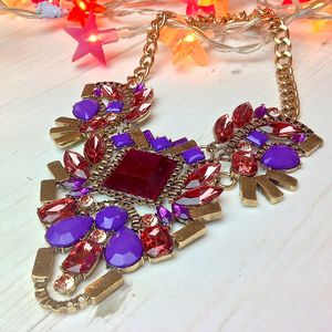 Femi Summer Crystal Necklace - necklaces & pendants