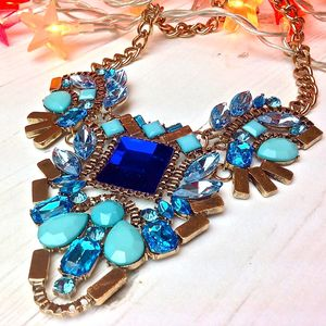 Geb Summer Crystal Necklace - necklaces & pendants