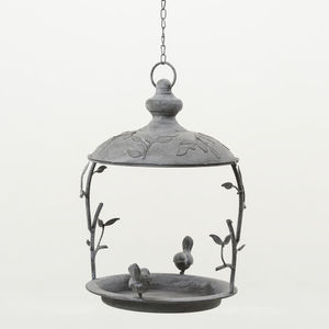 Hanging Steel Bird Feeder - small animals & wildlife