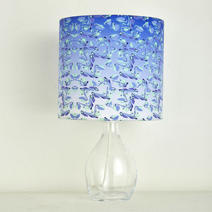 Raindrops Lampshade - office & study