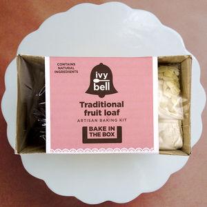 Traditional Fruit Loaf