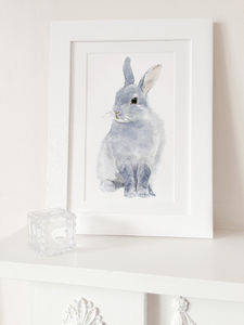 Bunny Fine Art Print - pictures & prints for children