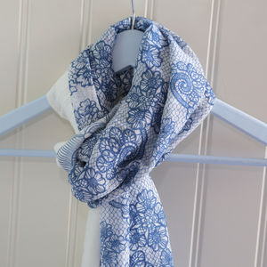 Amelia Pattern Scarf - fashion sale