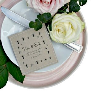 Bee Friendly Seed Packet Wedding Favours - wedding favours