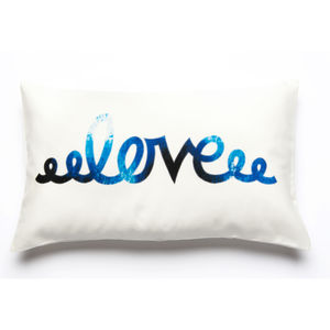 Love Printed Cushion Cover