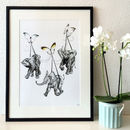 Suspended Elephant And Butterfly Giclée Print