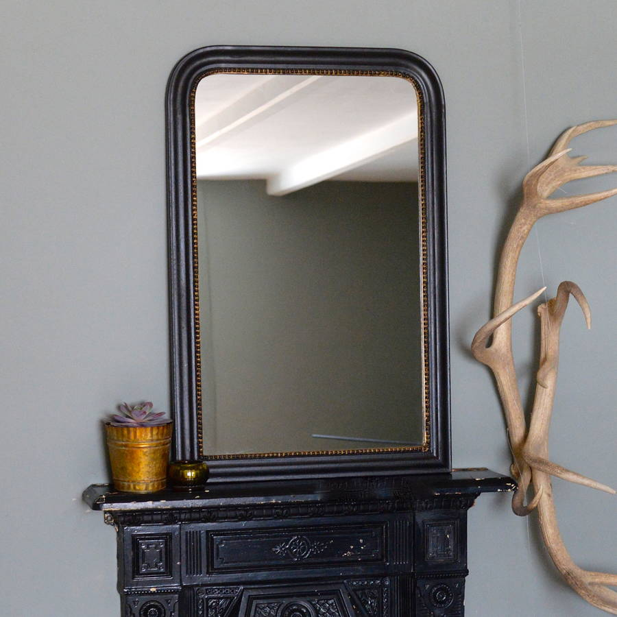 Vintage and unusual mirrors notonthehighstreet gold edged vintage wall mirror amipublicfo Choice Image