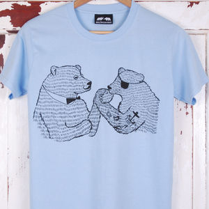 Wrestling Bears T Shirt - t-shirts & vests