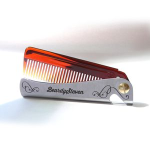 Personalised Man Comb - men's grooming & toiletries