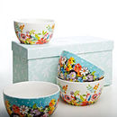 Flower Patch/Grandiflora Bowls Boxed Set