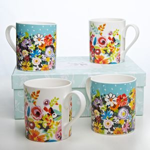 Flower Patch/Grandifora Mugs Boxed Set