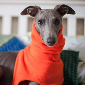 Fleecy Snood For Whippets - gifts for pets