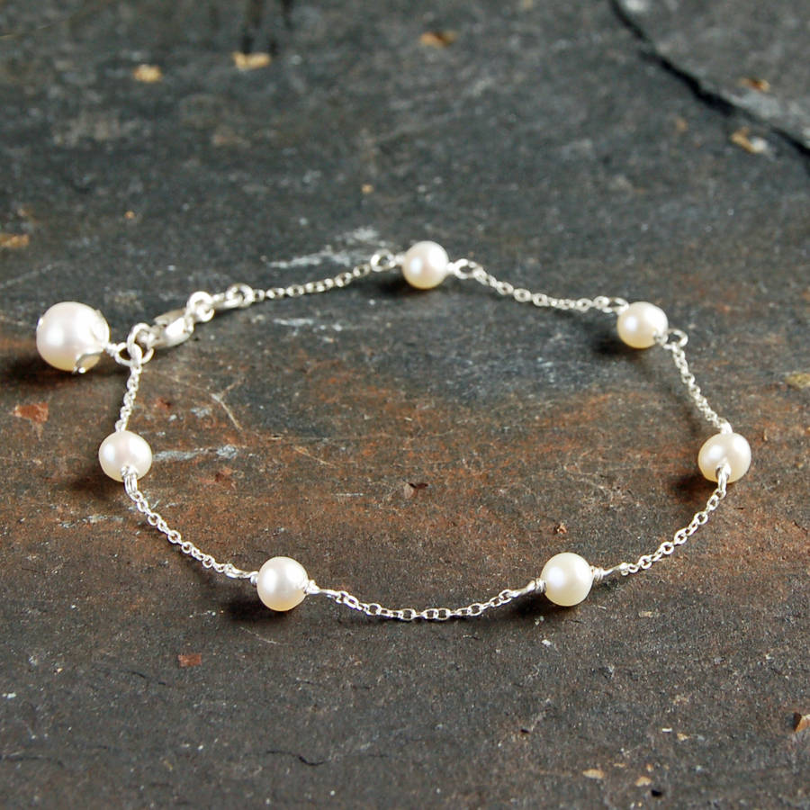 silver pearls products necklace in sterling pearl station freshwater com
