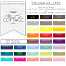Milly's Cottage Colour Palette