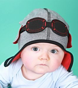 Baby's Pilot Hat With Goggles