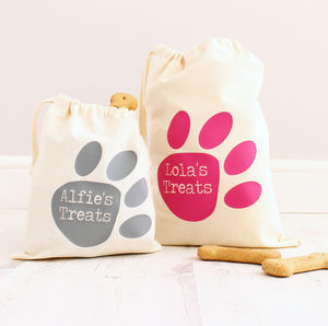 Personalised Pet 'Treat' Bag - dogs