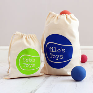 Personalised Pet 'Toy' Bag - food, feeding & treats