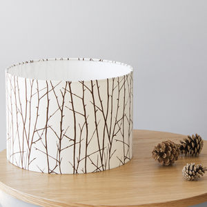 Woodland Lampshade - lighting