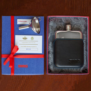 Executive Hip Flask Gift Set