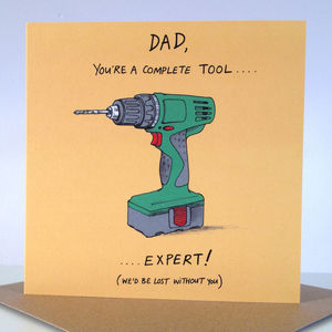 'Complete Tool' Card - birthday cards