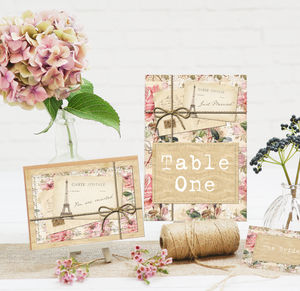 Wedding Stationery Collection 'Love Letters' - invitations