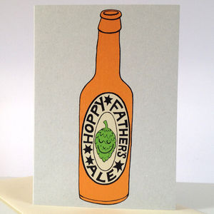 'Hoppy Father's Ale' Card - father's day cards