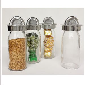 Glass Storage Bottle For Nuts, Seeds And Spices - storage & organisers