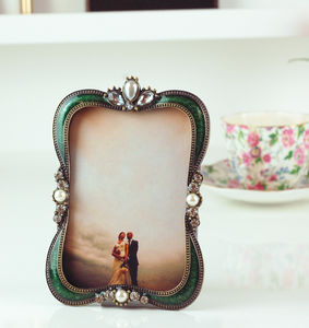 Vintage Luxury Ornate Wedding Photo Frame - picture frames