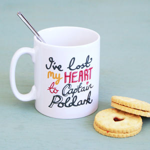 'I've Lost My Heart To Poldark' Mug - palentine's gifts