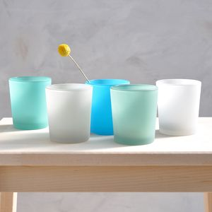 Pastel Tone Votives, Set Of Five - bedroom