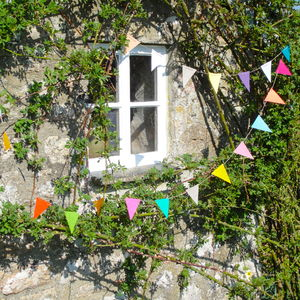 Traditional Country Bunting - adults birthday