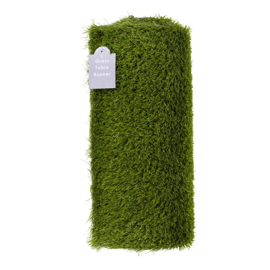 artificial grass table runner by all things brighton. Black Bedroom Furniture Sets. Home Design Ideas