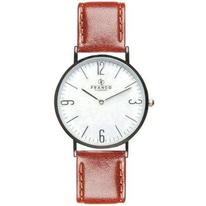 Brown Soft Calf Italian Leather Watch - birthday gifts